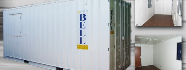Bell Container hire fleet - container conversions