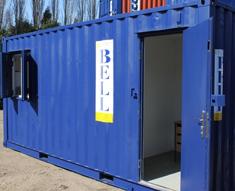 Customised containers conversions in London and M2