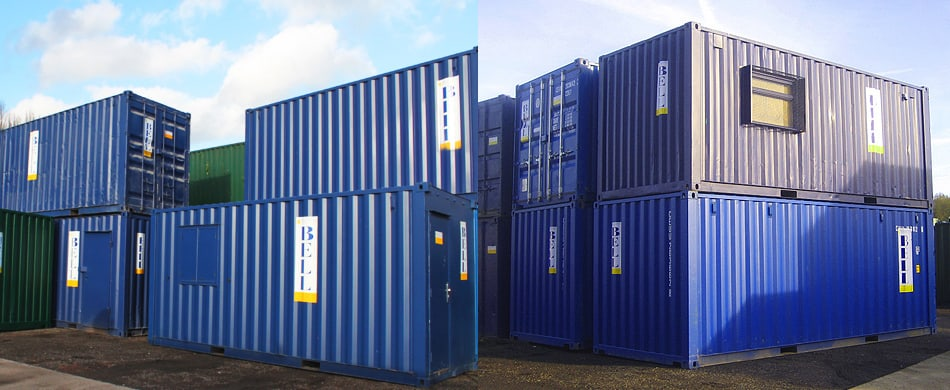Shipping container sales London