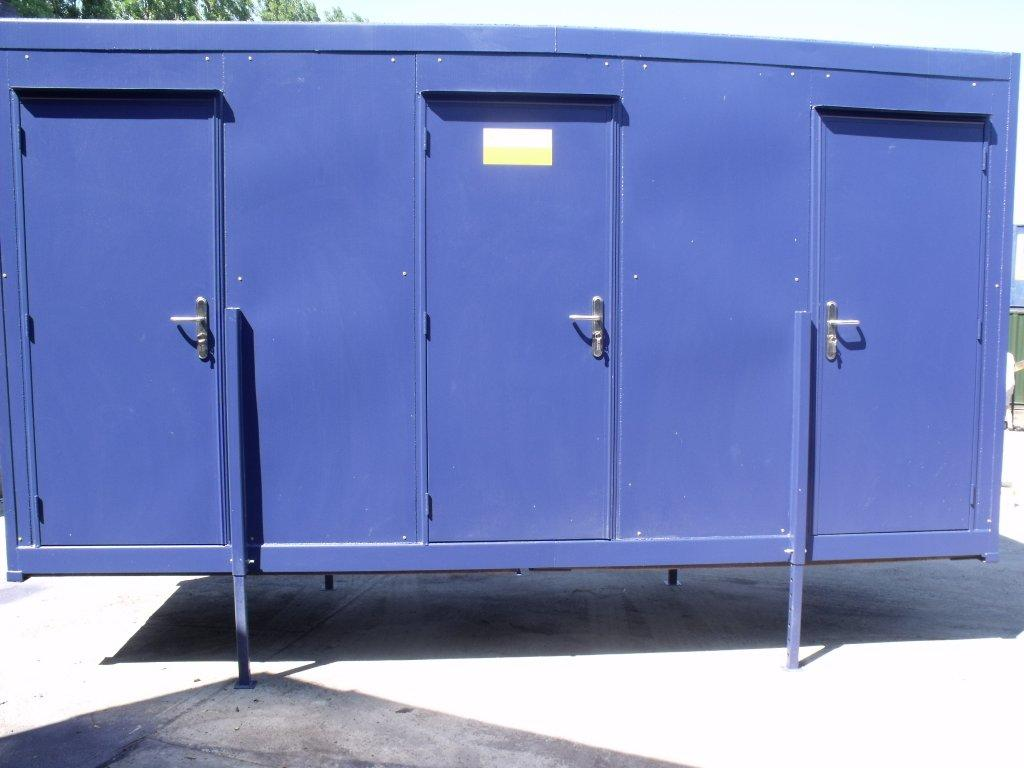 3 berth toilet container conversions