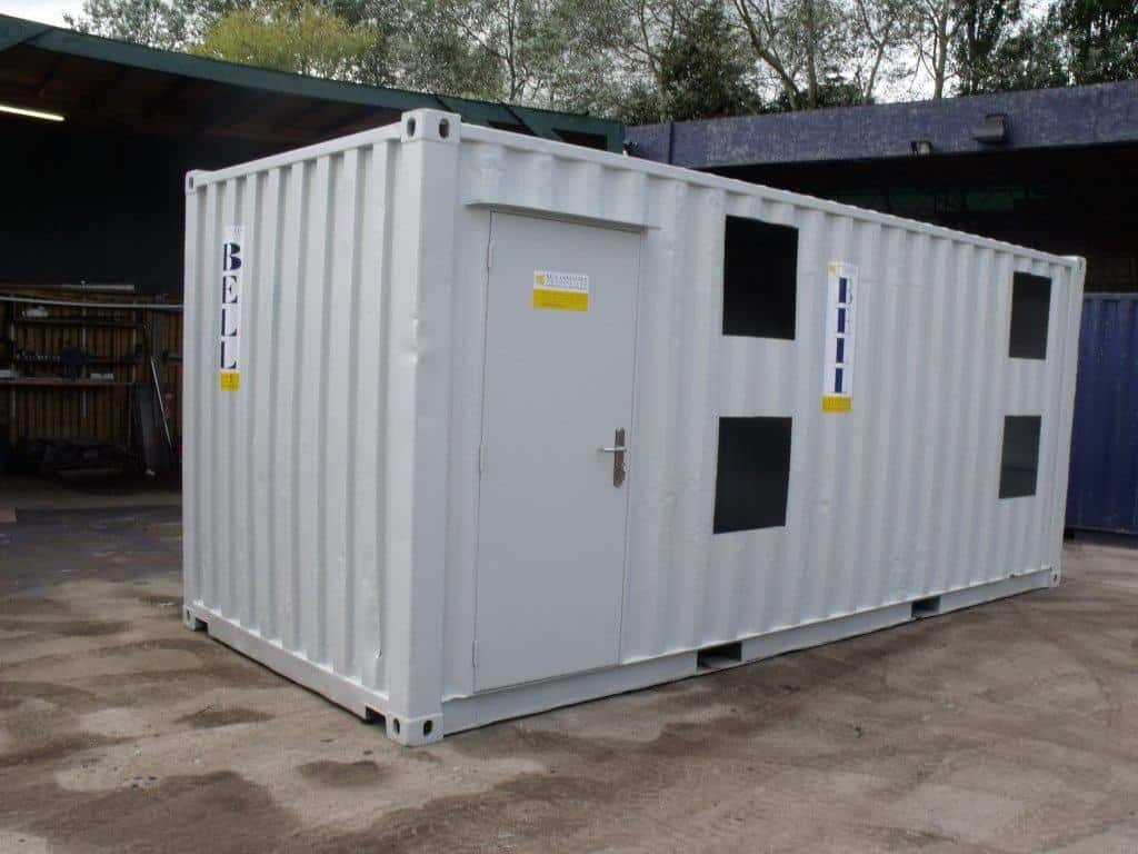 If you are looking for a custom container conversion, please get in touch  with us and we welcome the opportunity to discuss your requirements further.
