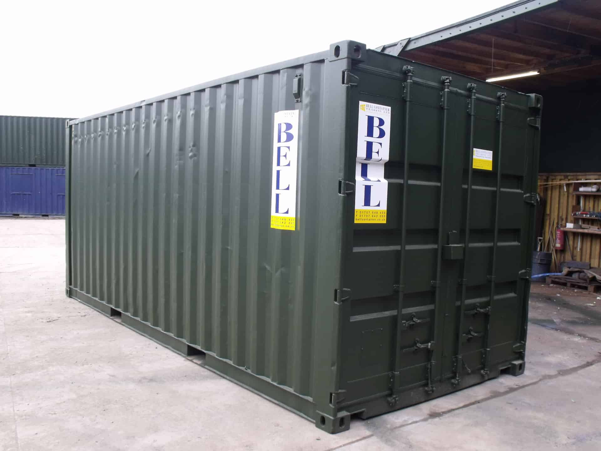 20ft Storage Container Conversion Full Electrics Bell