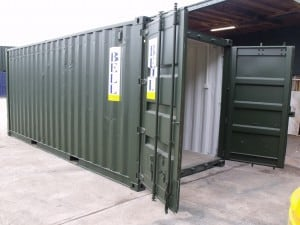 20ft container conversion - electrics box