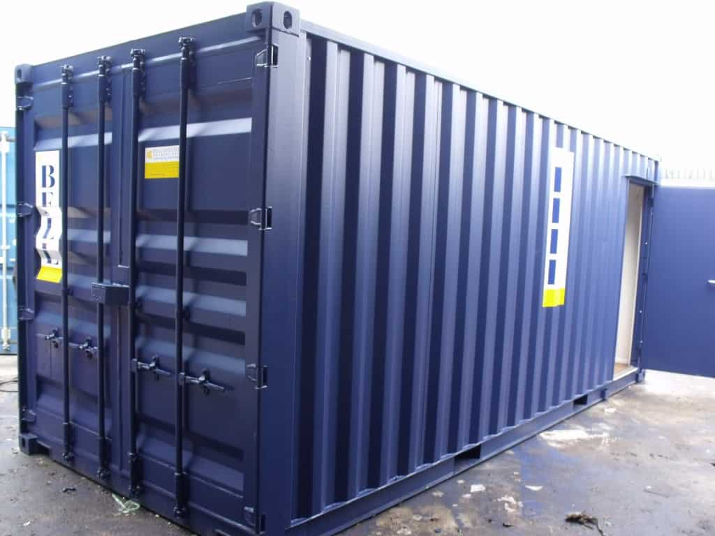 Container conversions bell container hire fleet office container UK 2