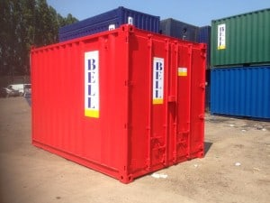 container hire 12ft unit London