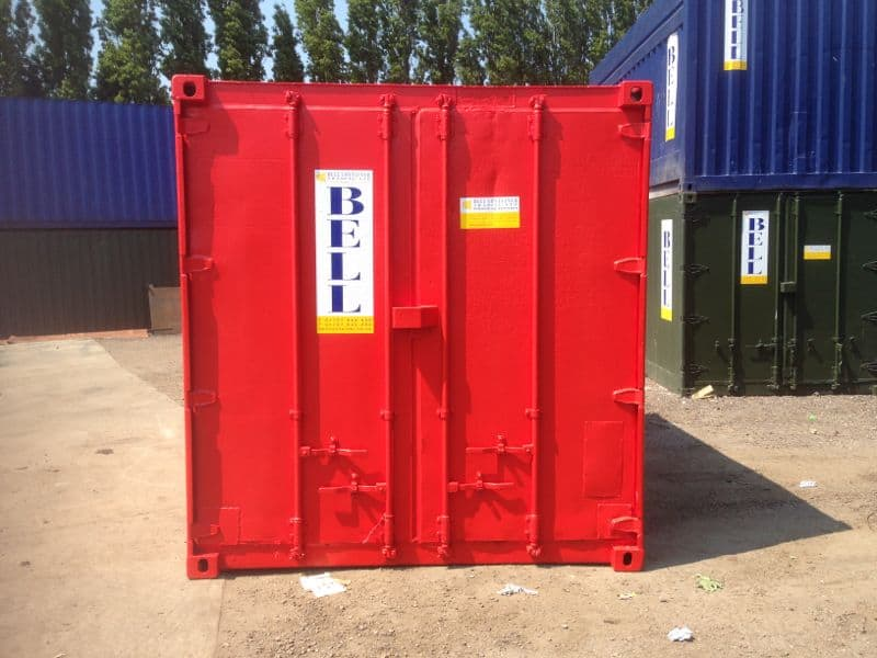 converted container hire fleet unit 12 ft