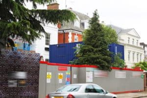 site accommodation containers london office units