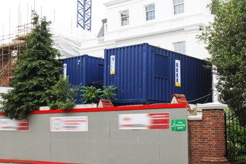 site accommodation containers london