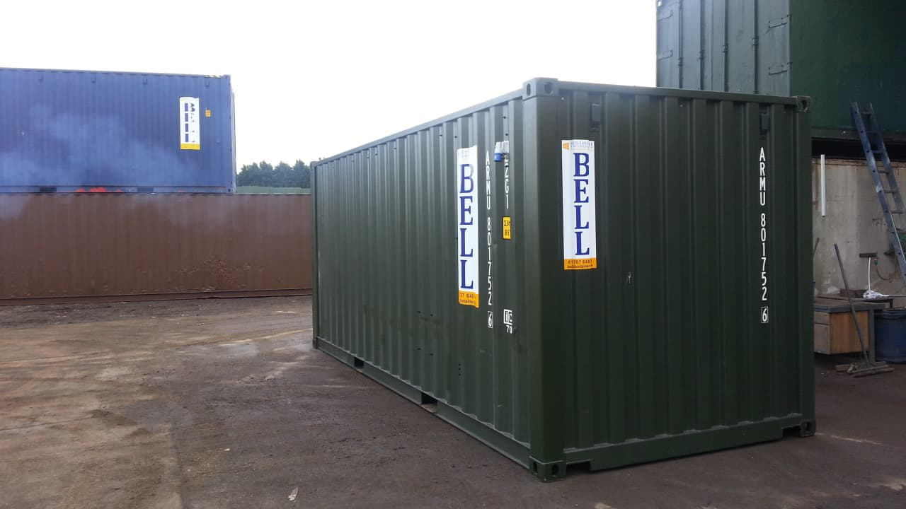 container conversions 20ft electrics new