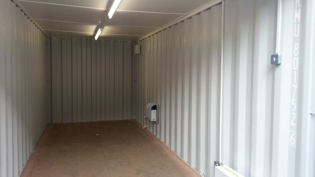 container conversions 20ft electrics new interior
