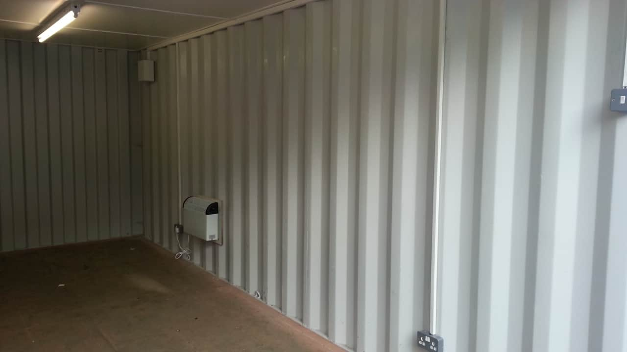 container conversions insulated electrics 20ft new