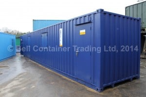 40ft container conversion