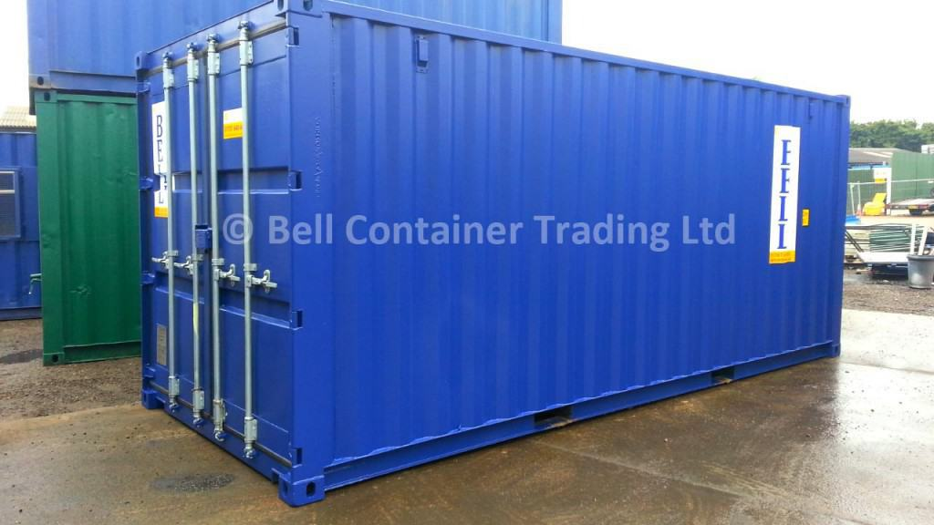20ft container for hire and sale blue Essex depot
