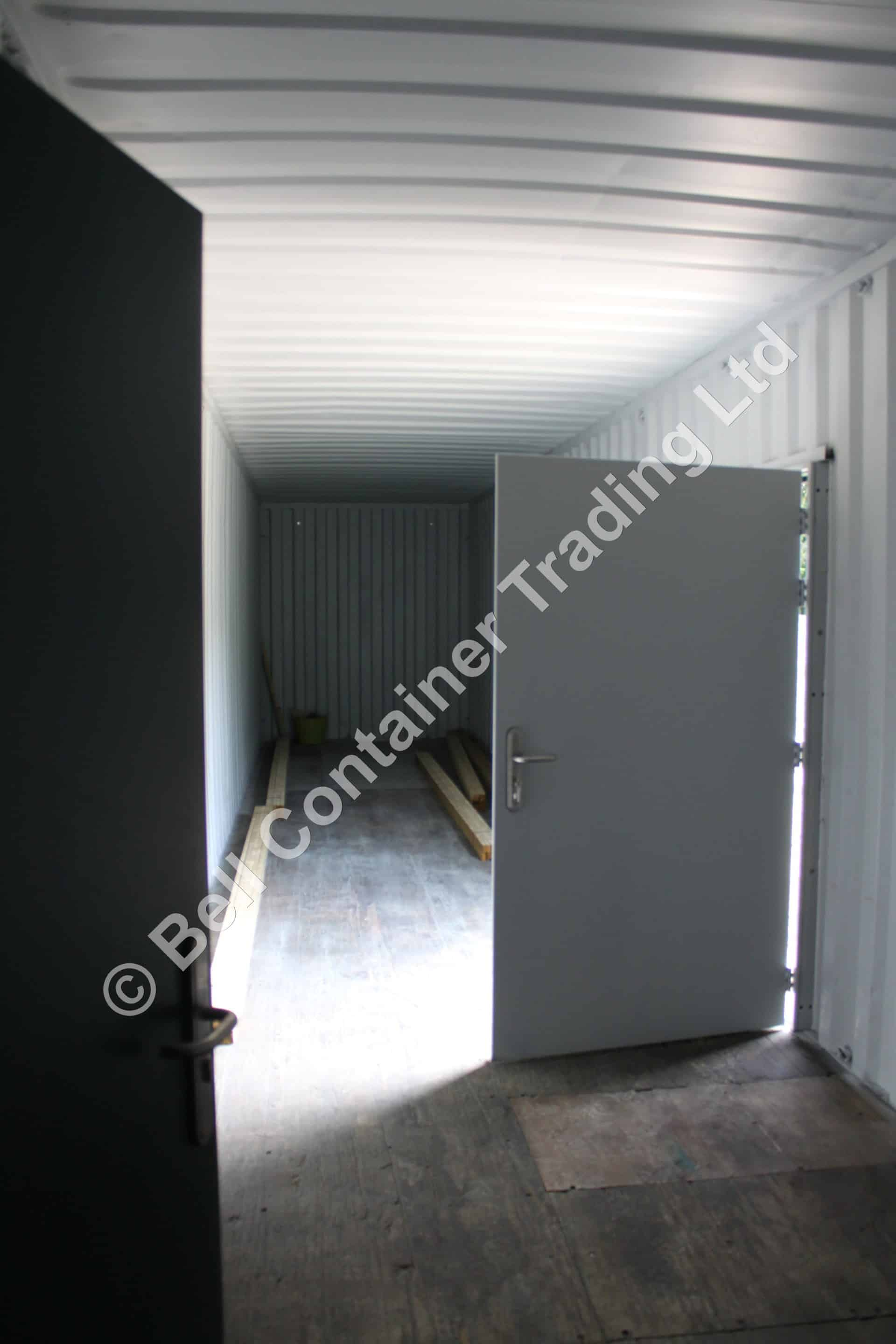 40ft container conversions office container doors1