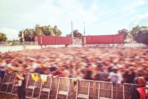 shipping container hire events and concert