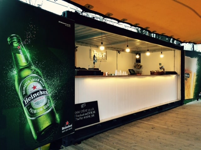 bespoke container bar