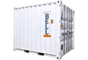 10ft x 8ft 3m steel storage container hire fleet London 008