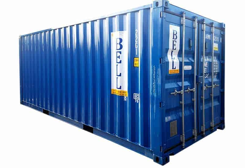 20 x 8 20ft hire fleet steel storage container from London hire fleet depot 009