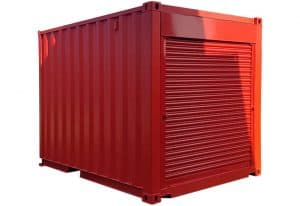 10ft x 8ft container with roller shutters at each 8 end 2