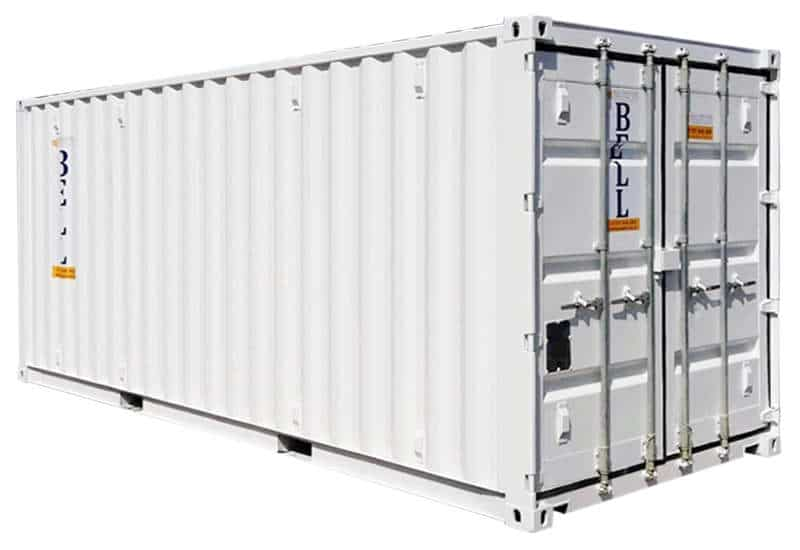 20 x 8 white storage container 018
