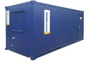 20ft office canteen unit from hire fleet