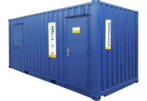 20ft office container personnel door side 058 1