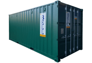 20ft x 8ft hire fleet storage container London