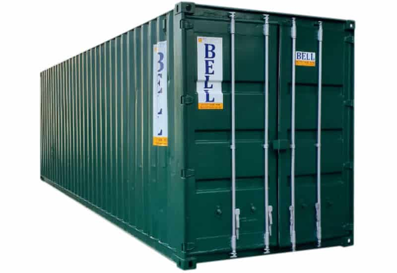 30ft x 8ft storage container at the depot 019