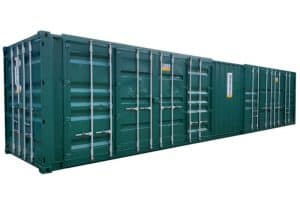 40ft storage container side access container doors 036