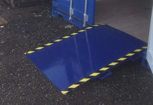 Bell Container access ramp 045