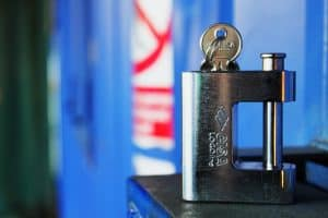 Container padlock 039 1