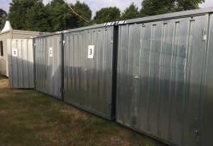 flat pack storage units 3 x units 085