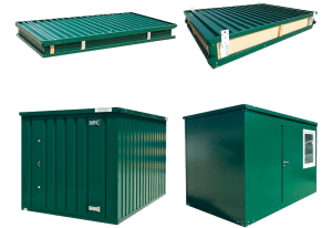 folable flat pack storage and office units 005