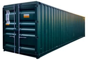 used 30 x 8 30ft steel storage container 031