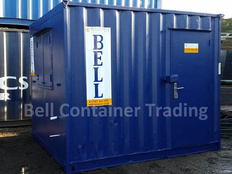 10 x 8 office unit hire fleet blue RAL 5013