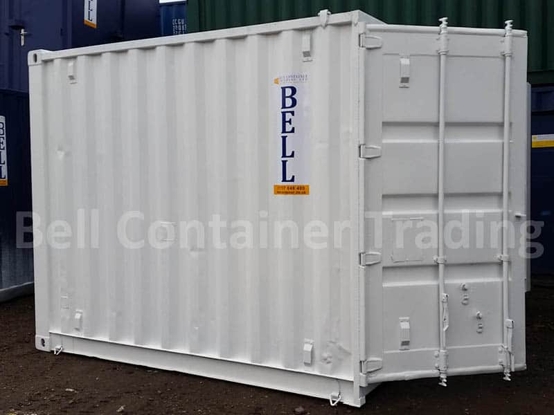 10 x 8 vented container white