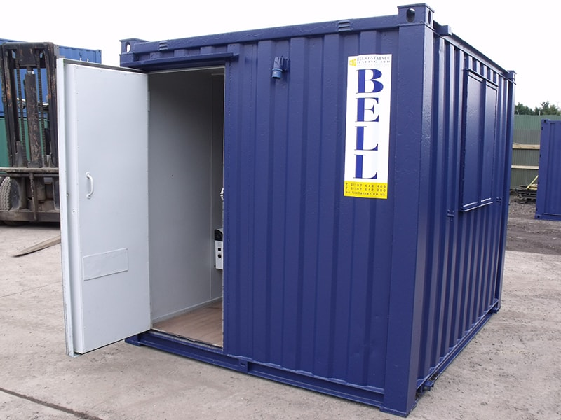 10ft canteen unit doors open