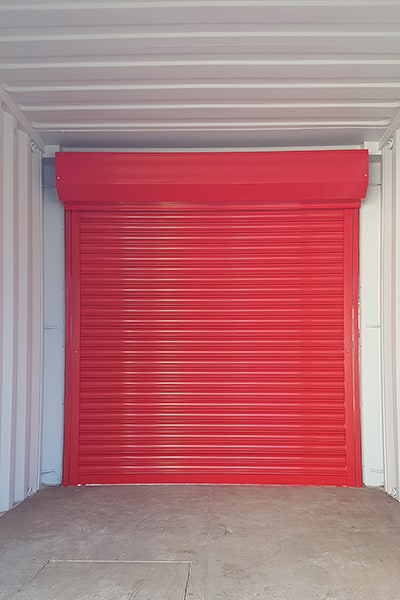 10ft container with roller shutters
