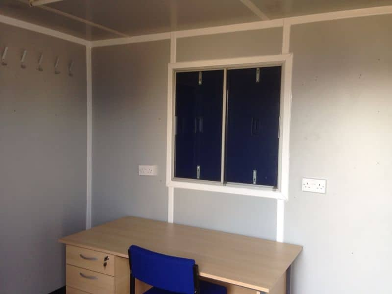 10ft office container - hire fleet uni