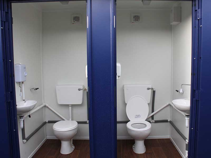 Mains toilets for hire and sales in London