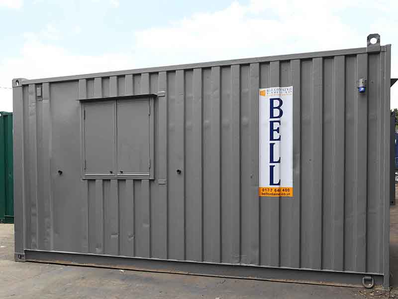 16ft canteen and office unit hire fleet