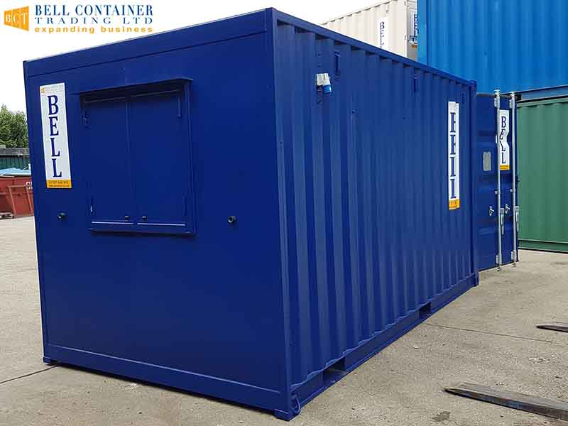 16ft office unit from container hire fleet London