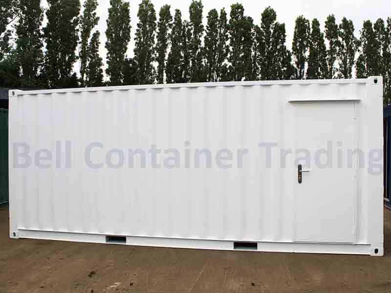 20ft container with personnel door