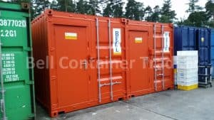 20 x 8 bespoke shipping container kitchen units