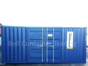 20 x 8 container with side doors