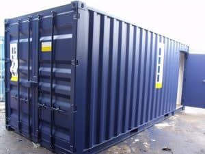 20ft office container – conversions – exterior