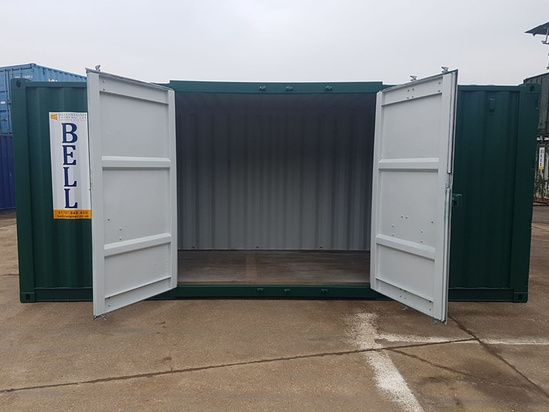 20ft container with retro fit side access doors