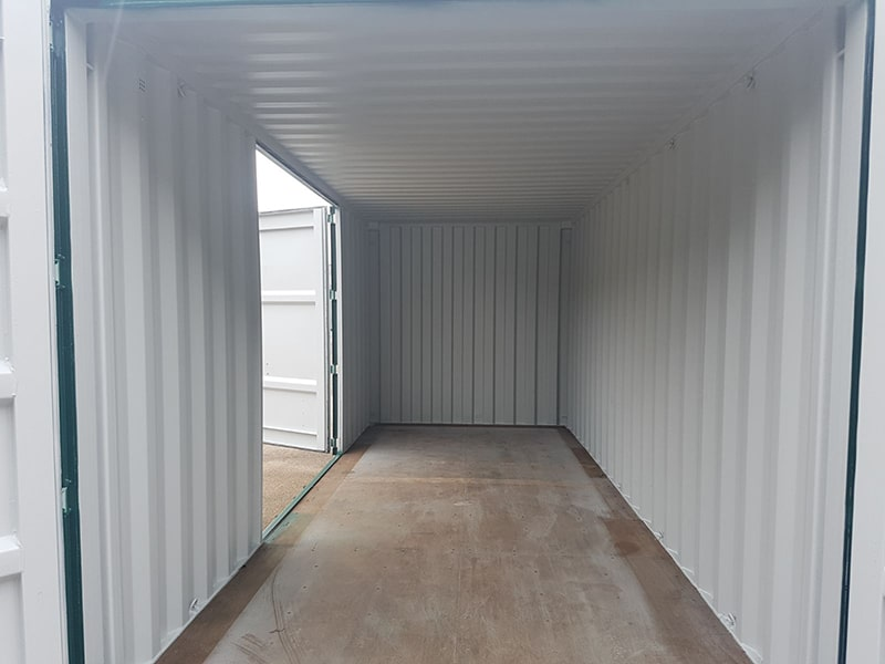 20ft container with side doors fitted