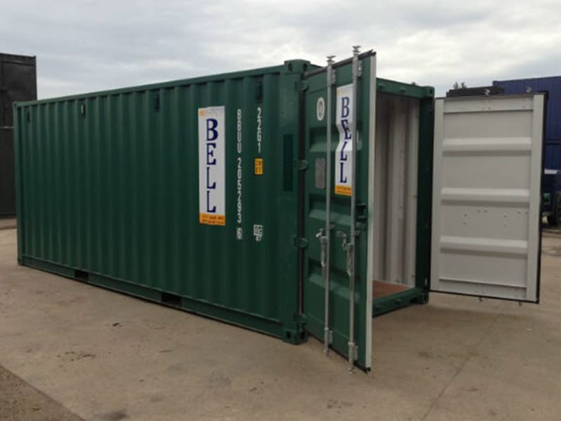 20ft hire fleet unit from London depot storage container