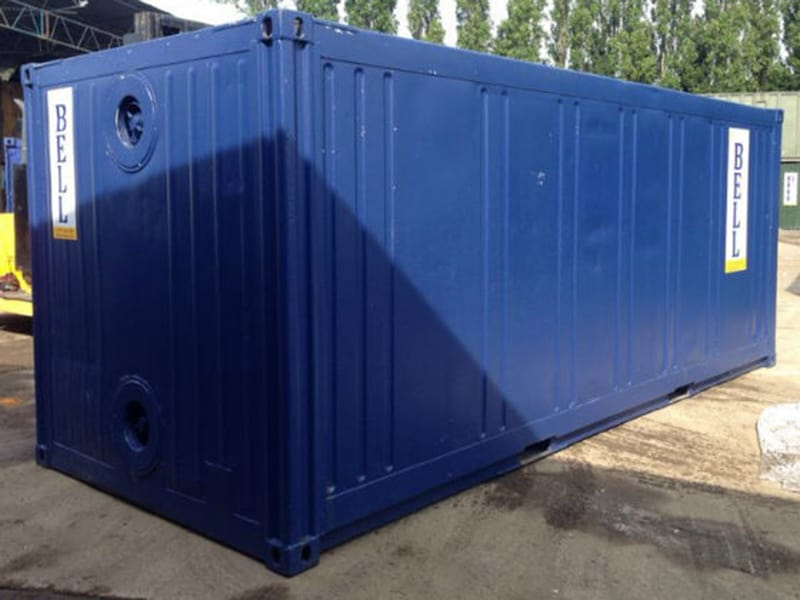 20ft insulated container external